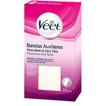 Veet Bands Depilatories Auxiliary Wax Refill 24 Units