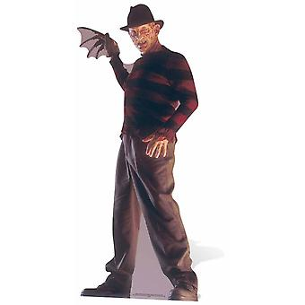 Freddy Krueger A Nightmare on Elm Street sagoma di cartone / Standee / Stand Up