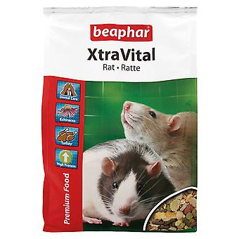 Beaphar Xtravital Rat voedsel 2,5 kg
