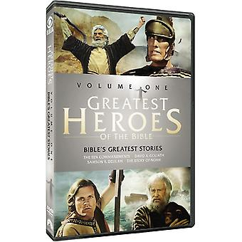 Greatest Heroes of the Bible: Volume One [DVD] USA import
