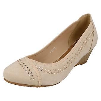 Dames Anne Michelle medio wig Hof schoenen F9984