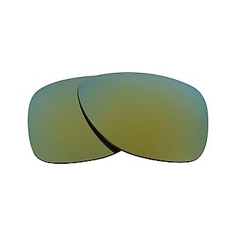 New SEEK Polarized Replacement Lenses for Oakley DISPATCH II Green Mirror