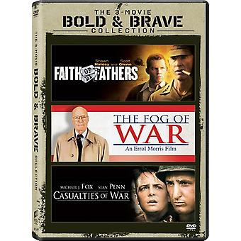 Casualties of War / Faith of My Fathers / Fog of [DVD] USA import