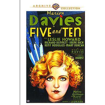 Fünf & zehn [DVD] USA import