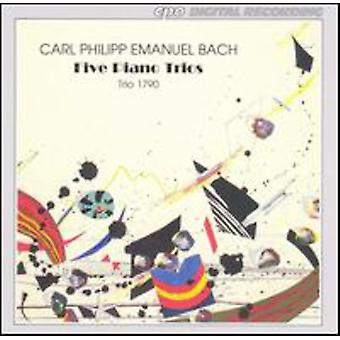 C.P.E Bach - Cpe Bach: Piano Trios [CD] USA import
