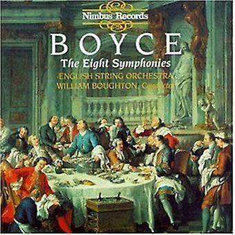 W. Boyce - Boyce: The Eight Symphonies [CD] USA import