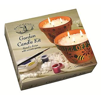 House of Crafts Garden Candle Kit*
