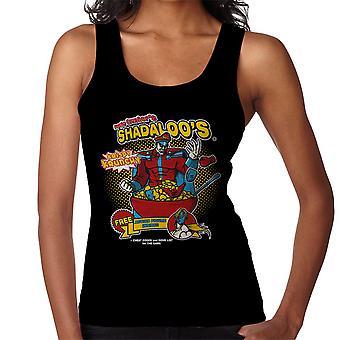 Psycho Crushers Shadaloos Cereal M Bison Street Fighter Women's Vest
