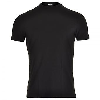 Dsquared2 Modal Stretch Crew Neck T-Shirt, Black, Small