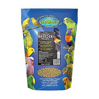 Parrot Pellet Breeder Diet 2kg Vetafarm