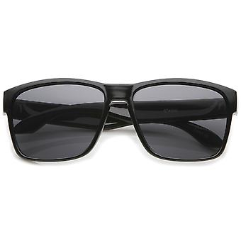 Action Sport Modern Lifestyle Frame Rectangle Sunglasses 59mm
