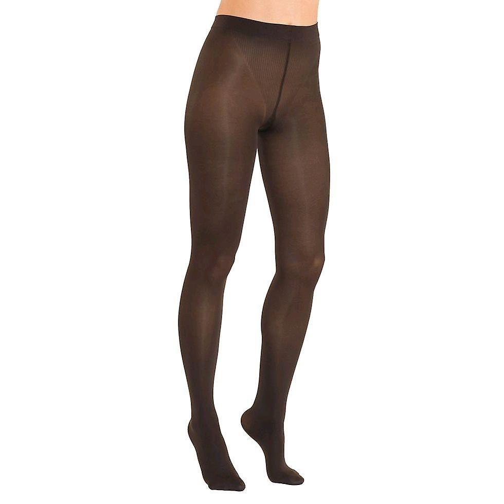 Solidea Red Wellness 70 Opaque Support Tights FIR Technology [Style 79970] Mosto (Dark Plum)  M