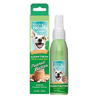TropiClean Spray Dental con Manteca de Cacahuete 118 ml