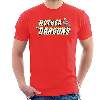 Game Of Thrones Lego Mother Of Dragons Men's T-Shirt
