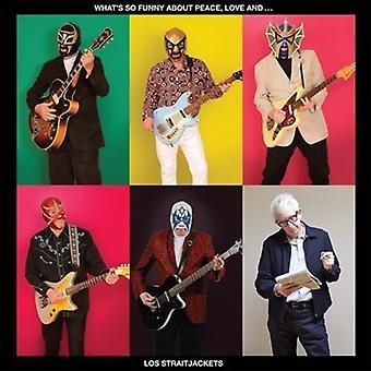 Los Straitjackets - (Cuál es tan divertido pelea) paz amor y Lo [CD] USA importar