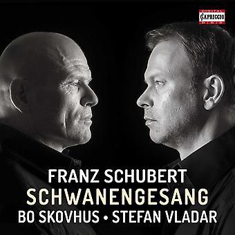 Schubert / Skovhus / Vladar - Schwanengesang [CD] USA import