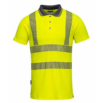 Portwest - дамы Привет Vis Pro безопасности спецодежды рубашки поло
