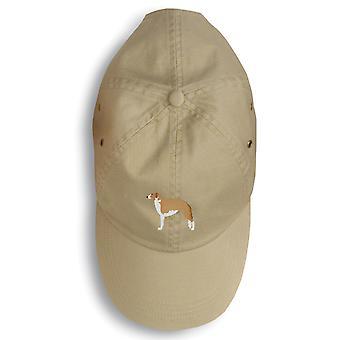 Borzoi Russian Greyhound Embroidered Baseball Cap
