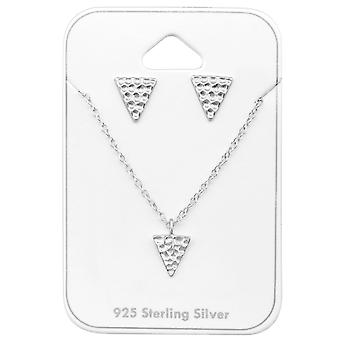 Triangle - 925 Sterling Silver Sets - W33941X