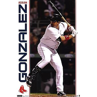 Red Sox - A Gonzalez 11 Poster Poster Print