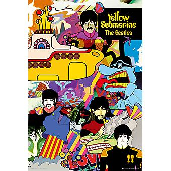 The Beatles Yellow Submarine Poster Poster Print