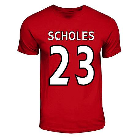 Paul Scholes Manchester United Hero T-shirt (red)