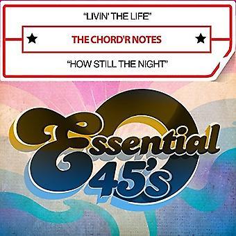 Chord'R noter - Livin ' livet / sådan stadig nat (Digital 45) [CD] USA import