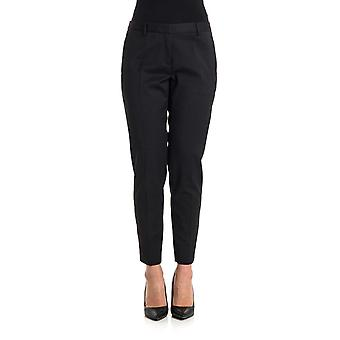 Newyorkindustrie women's NYCC602WO005290 black cotton pants