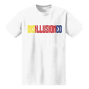 The T-Shirt Factory Mens Disillusioned Graphic T-Shirt