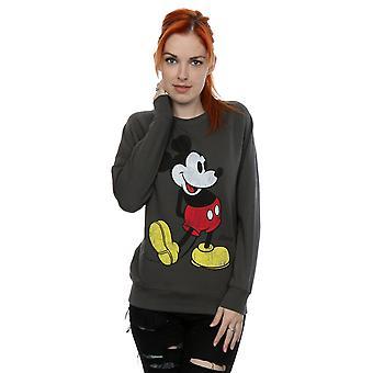 Disney Women's Mickey Mouse Classic Kick Sweatshirt