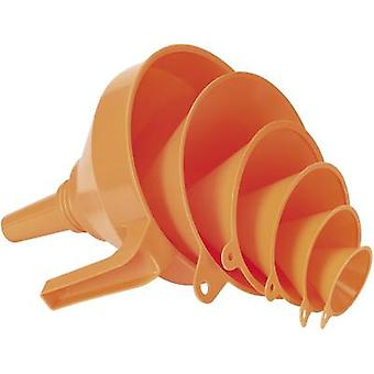 Funnel set 6-piece 0.05 l, 1.2 l 160 mm Pressol 02372 043