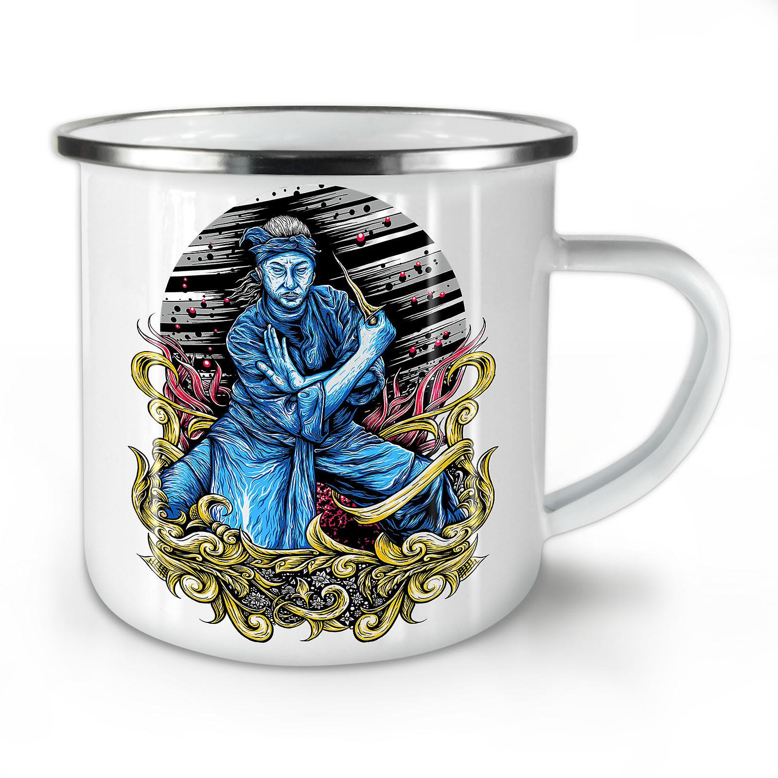 New Art Mug10 Whitetea Asia Coffee Enamel OzWellcoda Katana vy8m0wONn