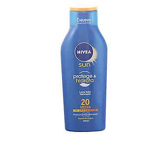Nivea Sun Protege And Hidrata Leche Spf20 400ml Unisex Sealed Boxed