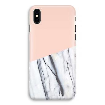 iPhonegeval X volledige Print - een vleugje perzik