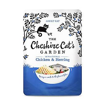 Cheshire Cat's Garden Chicken and Herring Wet Cat Food - 1 X 85g