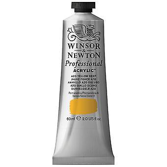 Winsor & Newton Professional Acrylic 60ml - 039 Azo Yellow Deep (S2)