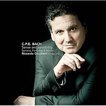 Riccardo Cecchetti - C. P. E. Bach: Sense & Sensibilities [CD] USA import