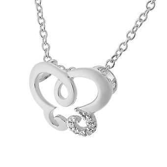 Orphelia Silver 925 Chain With Pendant Butterfly Zirconium  ZH-7088