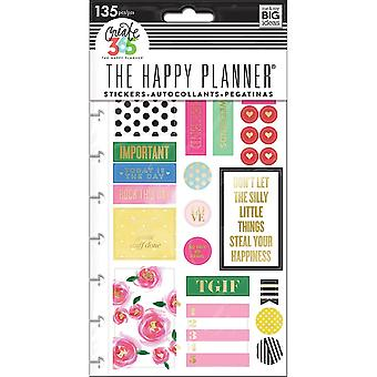 Create 365 Happy Planner Stickers 5/Sheets -Make It Happen - Classic