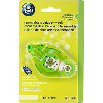 Glue Dots Tape Refill-Removable .333x52' For 40601 Runner