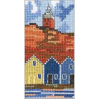Lighthouse Iii Counted Cross Stitch Kit-2.25