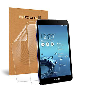 Celicious Vivid Invisible Glossy HD Screen Protector Film Compatible with Asus Memo Pad 8 ME581CL [Pack of 2]