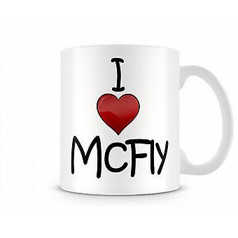Jag älskar McFly tryckta mugg