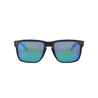 Oakley Holbrook XL Sunglasses In Polished Black Sapphire Prizm