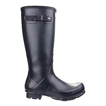 Hunter Norris Field Navy Wellington Boots