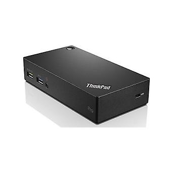 Lenovo Pro Dock USB 3.0 Docking Station - Notebook/Tablet PC - 5 x USB