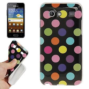 Skyddsfodral för mobil Samsung Galaxy S advance i9070 svart/färg