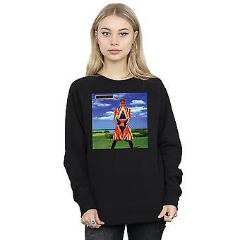 David Bowie vrouw Aardbewoner Album Cover Sweatshirt