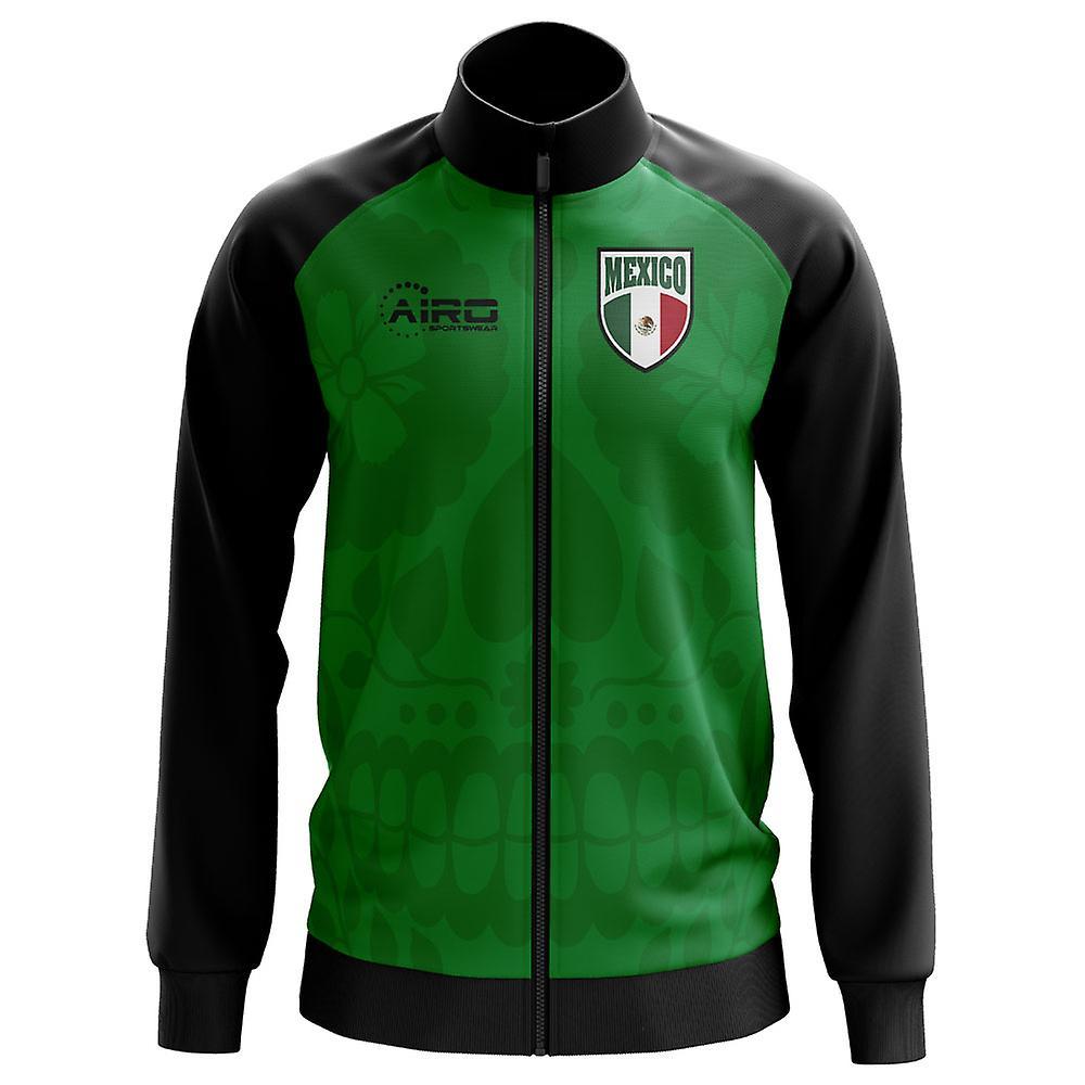 Mexico Concept Football Track Jacket (vert) - Kids