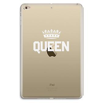 iPad Mini 4 Transparent Case (Soft) - Queen black